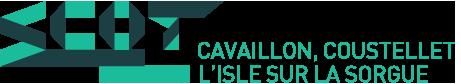 Syndicat mixte du bassin de vie de Cavaillon, Coustellet, l'Isle sur la Sorgue