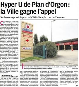 La Provence du 18 mars 2016