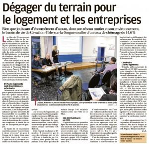 La Provence 9 02 2017 - Réunion publique