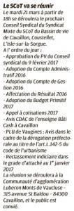 La Provence 15 03 2017